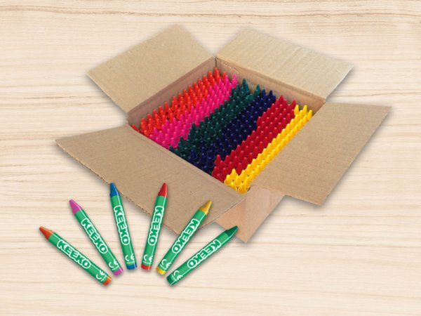 300 Bulk Wrapped Kids Wax Crayons