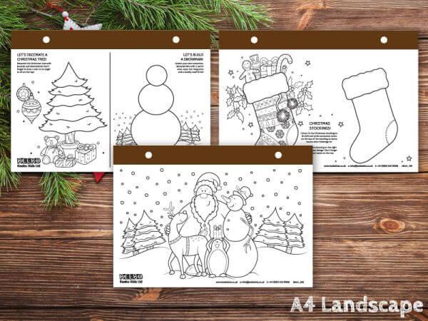 Christmas Landscape Pads