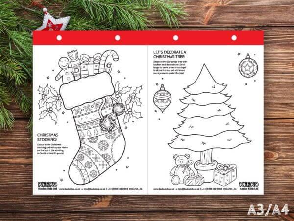 Christmas Sheets A3 - A4