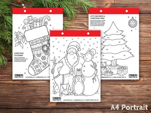 christmas colouring sheets