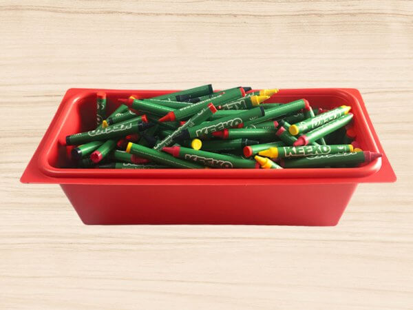 Kids Crayon Pot