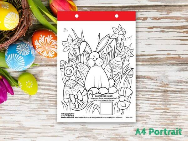 Easter A4 Colouring Sheets