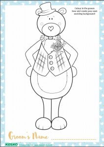 Free Download - Wedding Colouring In Sheet