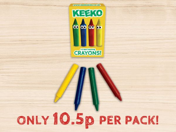 kids crayon 4 pack