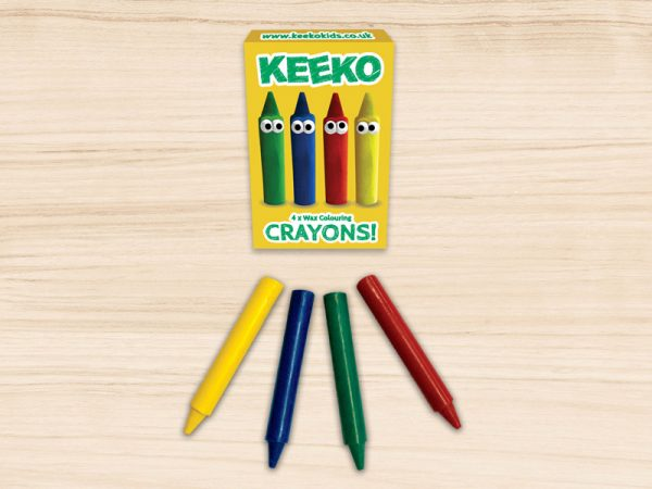 Keeko Crayon 4 Pack