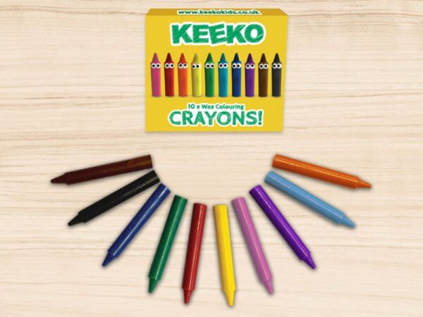 Keeko Crayon 10 Pack