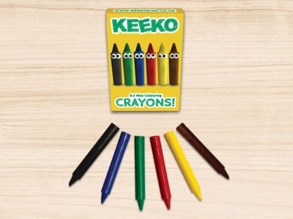 Keeko Crayon 6 Pack