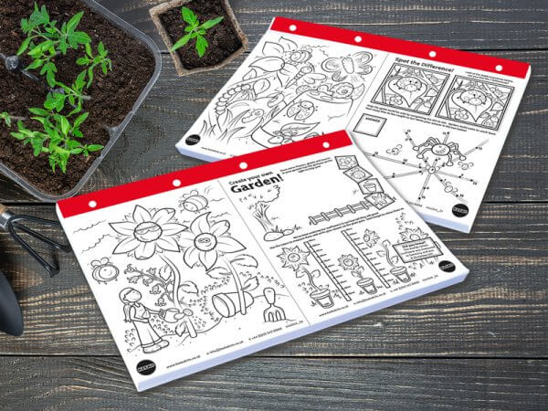 Kids Gardening Activity Sheets