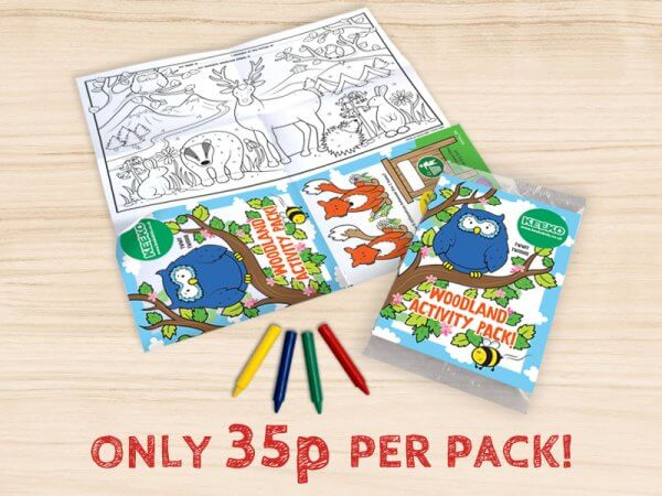 Kids Woodland Activity Packs