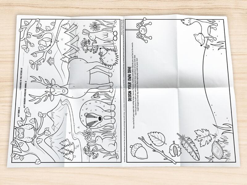 NEW! Kids Woodland Puzzle Packs - Keeko Kids
