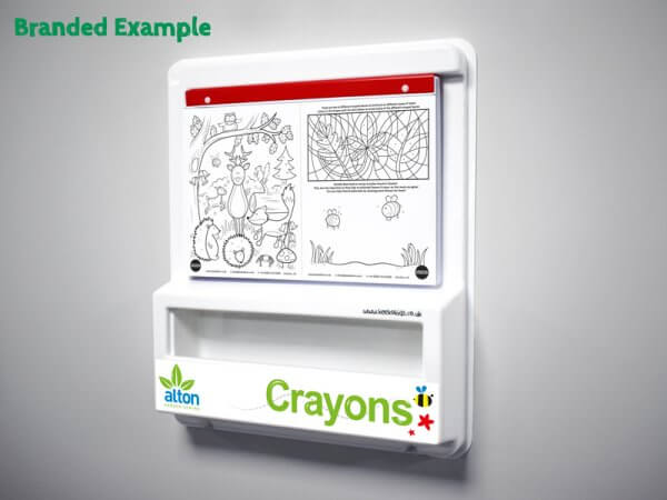 Large Colouring Board Branded Example