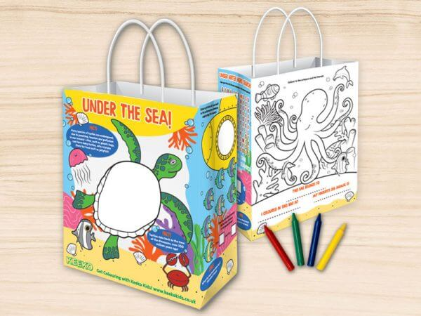Under the Sea Children's Activity Bag