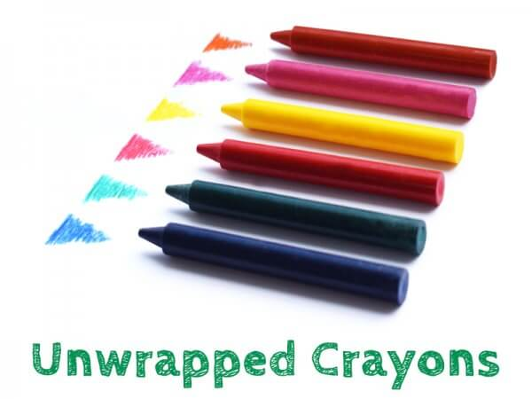 Unwrapped Crayons pick your own colours
