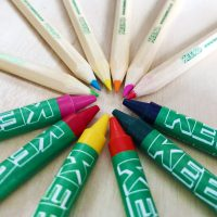 Keeko Wax Crayons and Colouring Pencils
