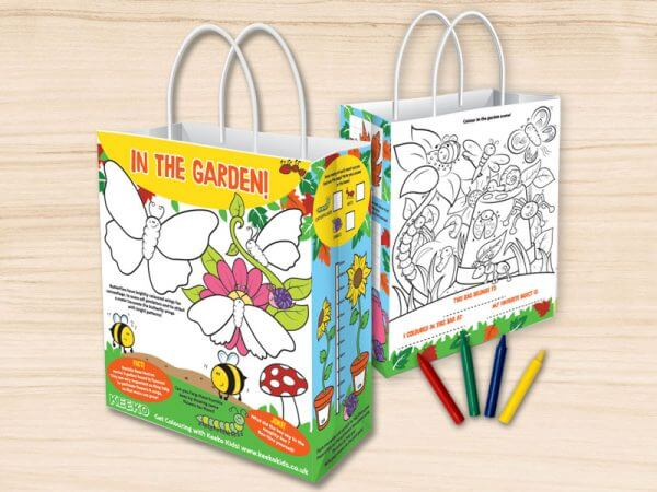 In the Garden Children's Activity Bag