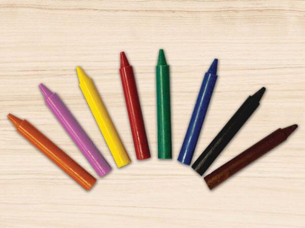 Jumbo Wax Crayons in Bulk