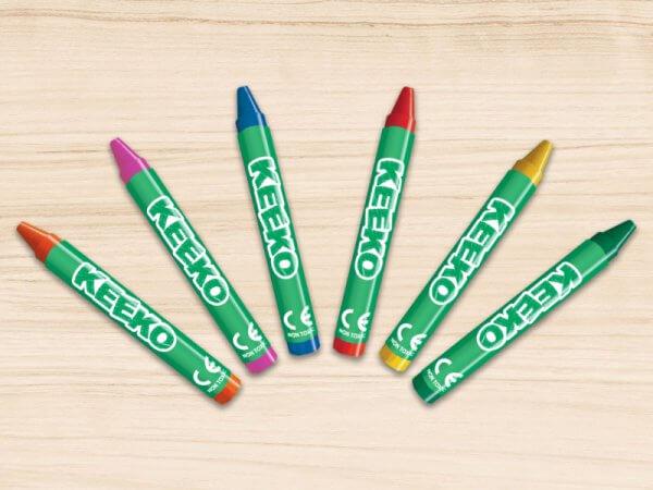 Keeko Wrapped Bulk Crayons