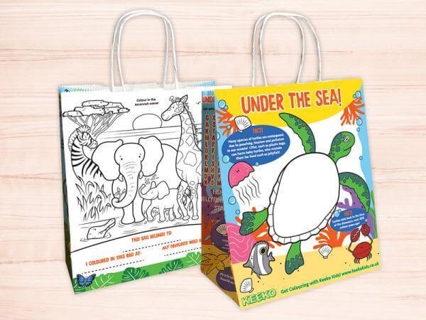 Kids Activity Bags and Packs for Businesses and Restaurants!