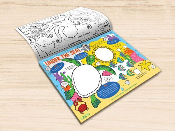 kids activity pads