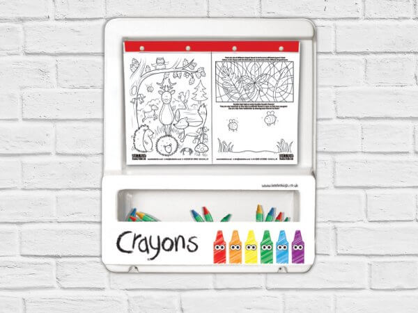 kids large colouring board