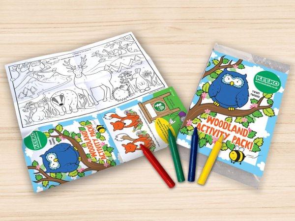 Keeko Kids Woodland Activity Packs