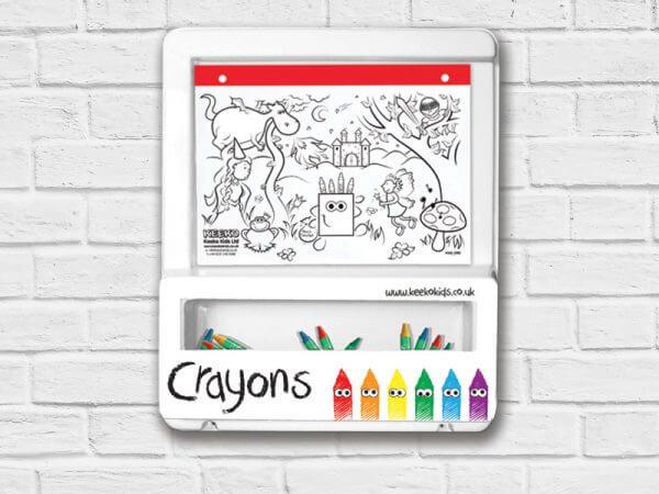 colouring board