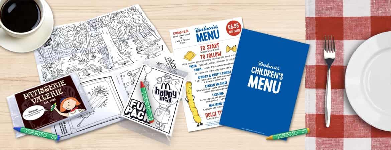 Kids Restaurant Activities