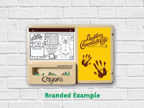 branded colouring board